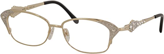 Caviar 2348 Eyeglasses Semi-Rimless C21 Gold Frames Authentic New