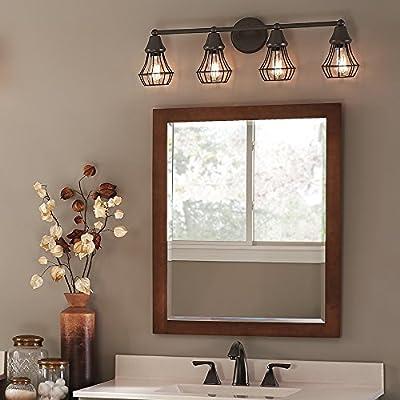 Kichler Lighting 4-Light Bayley Olde Bronze Standard Bathroom Vanity Light