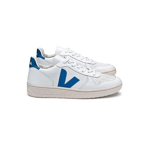 VEJA Herren Sneakers V 10 Weissblau (902) 40:
