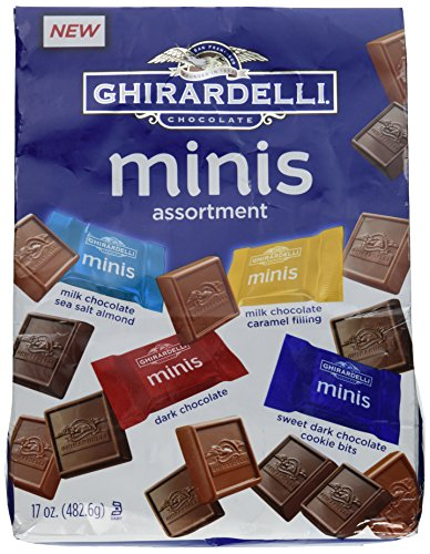 - Ghirardelli Chocolate Minis Assortment 17 Ounce Bag