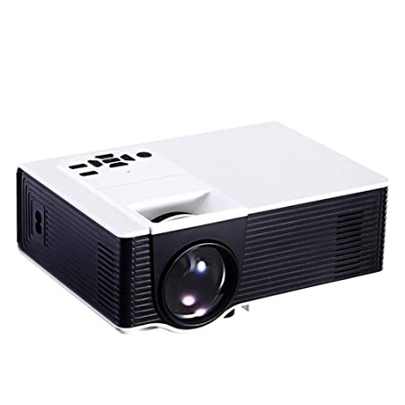 YTDDD Proyector, pequeño proyector portátil para Uso doméstico ...