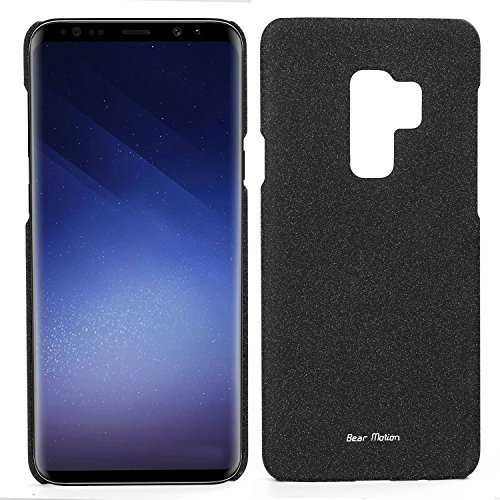 detailed look 5735b bb63e Bear Motion for Galaxy S9 Plus - Slim Case for Samsung Galaxy S9 Plus 2018  Release (Black, Galaxy S9 Plus)