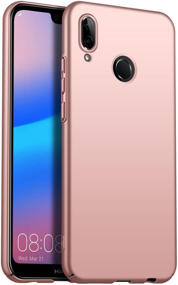 Huawei Honor 7C Case, AOYIY Hybrid Rubberised Back Hard Case Slim ...