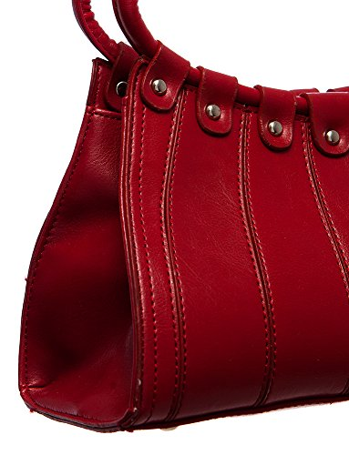 Structured All Handbags For Medium Red Handbag Hobo Shoulder by UndBz0Ba