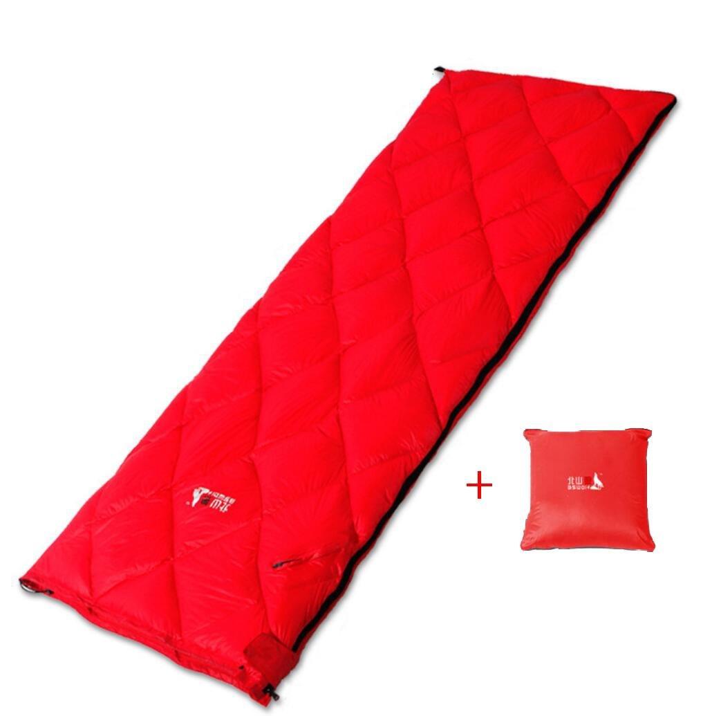 Erwachsener Schlafsäcke Draußen Unten Umschlag Ultra-Licht Winter Warm halten Draußen Kampieren Ausrüstung