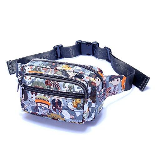 Carteras de damas/Pecho de deportes al aire libre con estilo Pack/bolsa impermeable/paquete de ocio-19 8