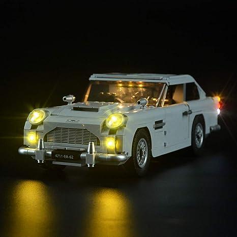 Aston Martin DB5 Building Blocks Kit Bricks Set Classic 007 Model Toy JAMES BOND