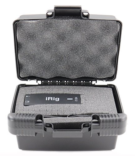 Pcie Gift Box (Life Made Better Storage Organizer - Compatible IK Multimedia iRig HD 2 Digital Guitar Interface - Durable Carrying Case - Black)