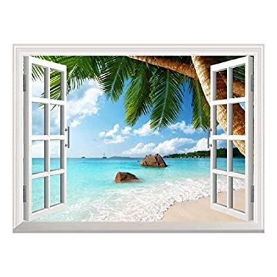 Removable Wall Sticker Wall Mural ANSE Lazio Beach...
