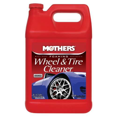 Mothers 05902-4 Foaming Wheel & Tire Cleaner - 1 Gallon, (Pack of 4) by Mothers