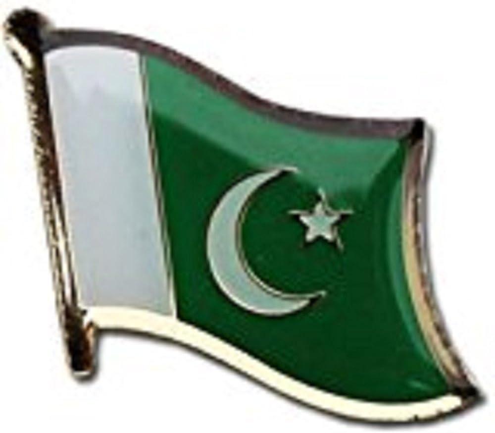 Pakistan Country Flag Bike Motorcycle Hat Cap lapel Pin