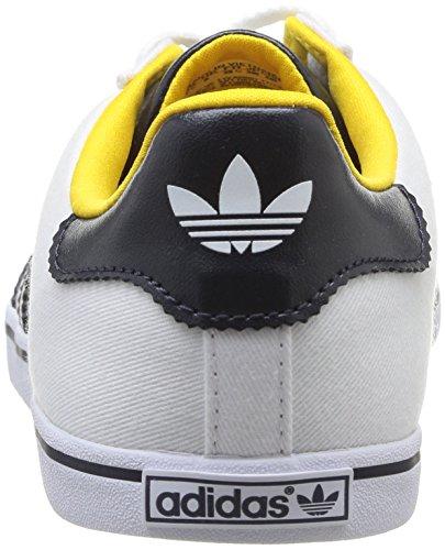 adidas Court Star Slim W - Sneaker per damen Running White FTW / Legend INK S10 / Sunshine