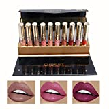 Good Cleansing Drinks - Coosa Matte Liquid Lipstick Set [ 10 Colors ] Colorstay and Waterproof Long Lasting Lip Gloss (10 PCS-Set 1)