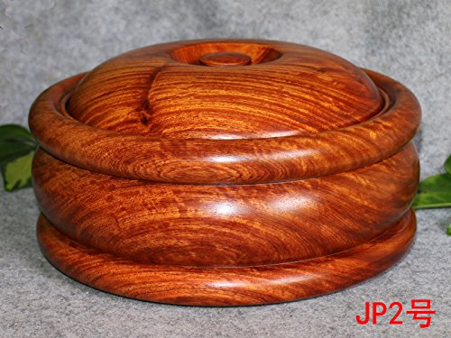 Rosewood ashtray with lid ashtray,25 cm in diameter by PINWEI