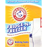 Arm & Hammer Fridge-N-Freezer Baking Soda, Odor Absorber 16 Oz (Pack of 6) 6 Lb Total