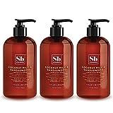 SoapBox Soaps Hand Soap, Coconut Milk & Sandalwood, 3 Count