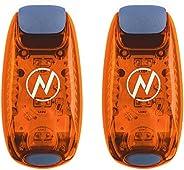 LED Safety Light (2 Pack) + Free Bonuses   Clip On Strobe/Running Lights for Runners, Dogs, Bike, Walking   Th