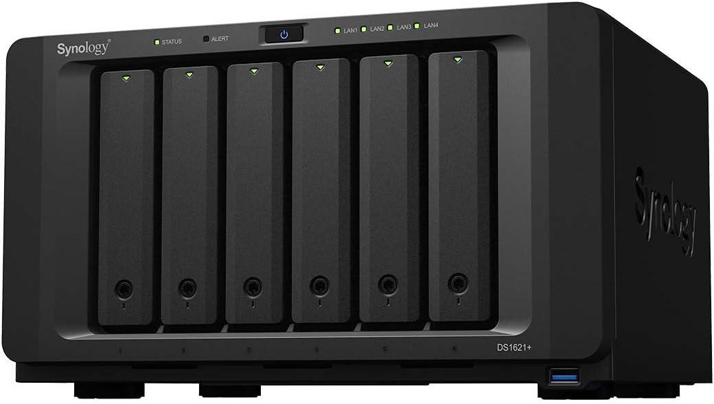 Synology 6 bay NAS DiskStation DS1621+ (Diskless)