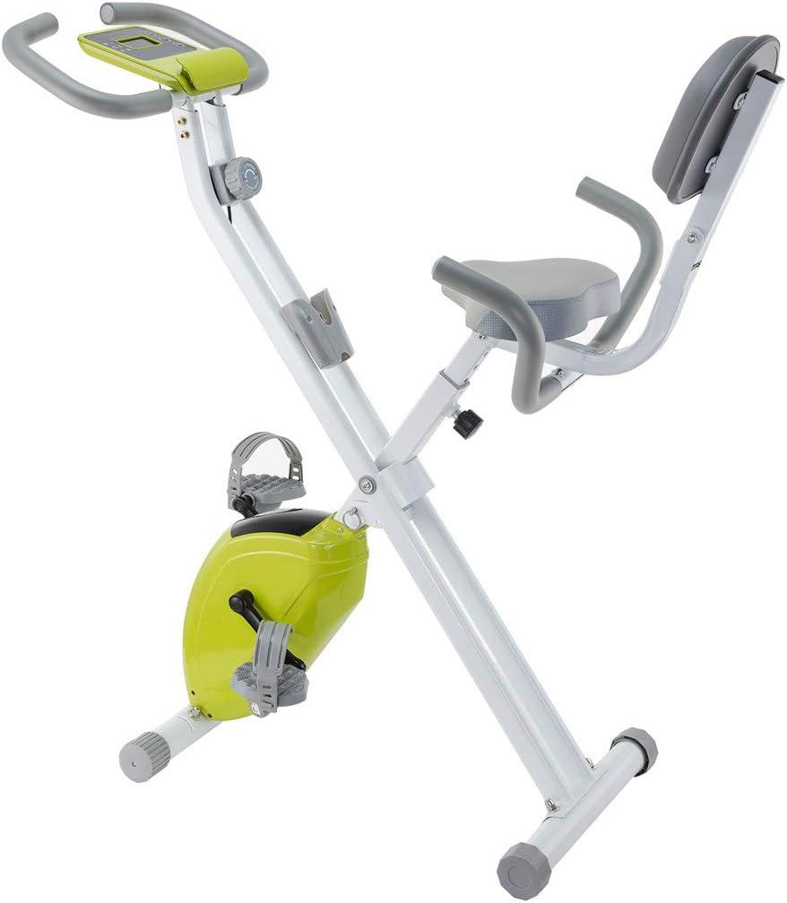 JFJL Monitor De Bicicleta Vertical Magnética para Bicicleta ...