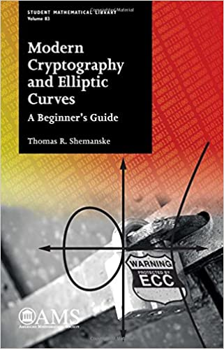 Modern Cryptography and Elliptic Curves A Beginners Guide Student Mathematical Library