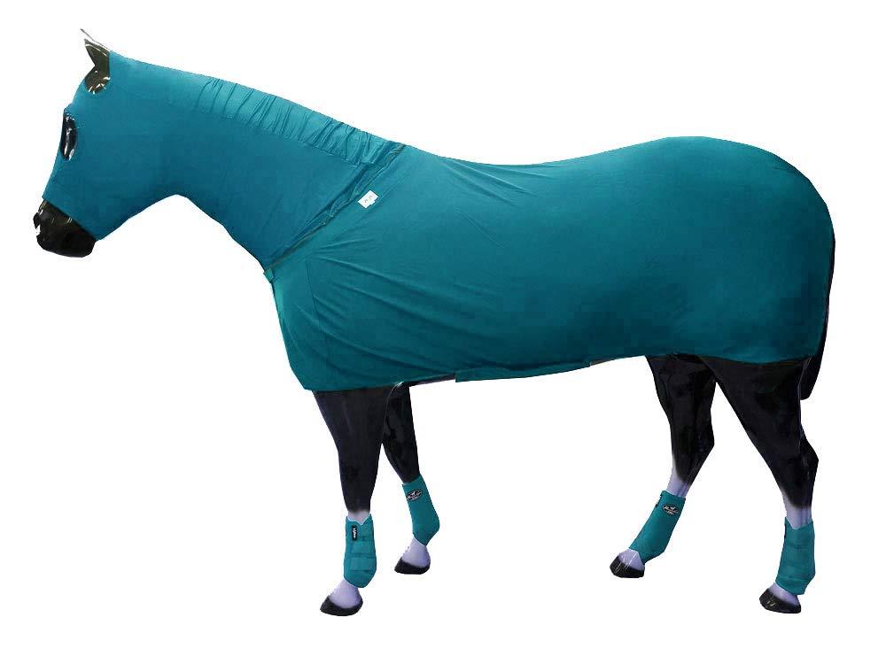 Chicks Saddlery Full Body Slinky with Full Zipper Hood and Belly Wrap