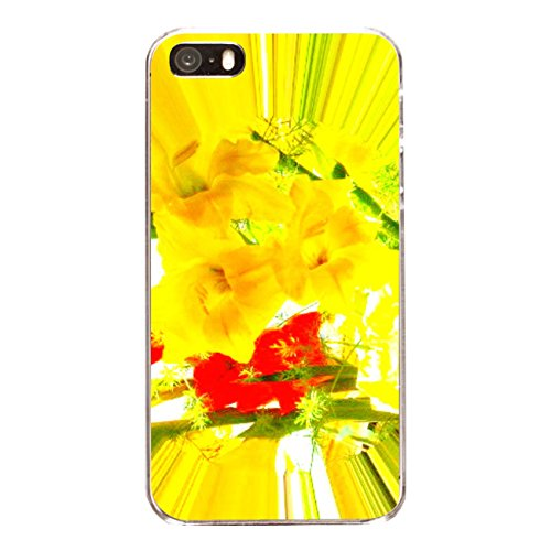 "Disagu Design Case Coque pour Apple iPhone 5 Housse etui coque pochette ""Gladiolen"""