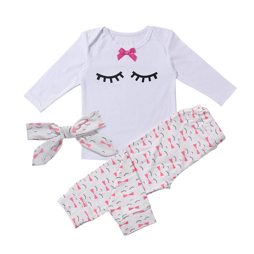 Baby Girl Clothes Infant Outfits Set 2 Pieces Long Sleeved Tops Pants