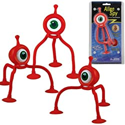 WowToyz Alien Spy, Orange - 3 Pack
