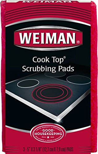 Weiman Cook Top Scrubbing Pads, 18 count ()