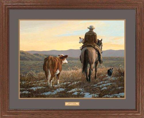 Cowboy Framed - 4