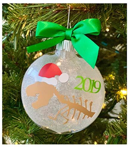 Dinosaur Christmas Ornament 2019 - Kids Gift Idea, Present, Stocking Stuffer