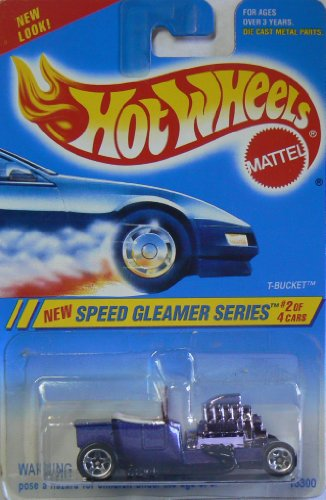 Hot Wheels New Speed Gleamer Series T-Bucket Purple for sale  Delivered anywhere in USA