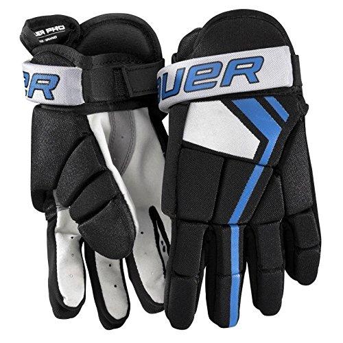 Bauer Junior Pro Players Glove (Pair), Black, Medium
