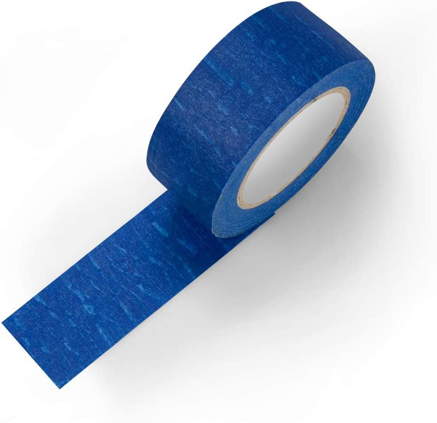 Art and Craft 18 Pack Blue Painter Tape 1 Inch x 15 Yard//Roll for Decoration and Painting No-Residue Blue Masking Tape