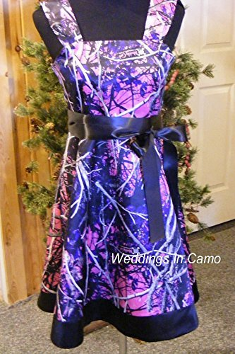 MUDDY GIRL flower girl or girls camo dress