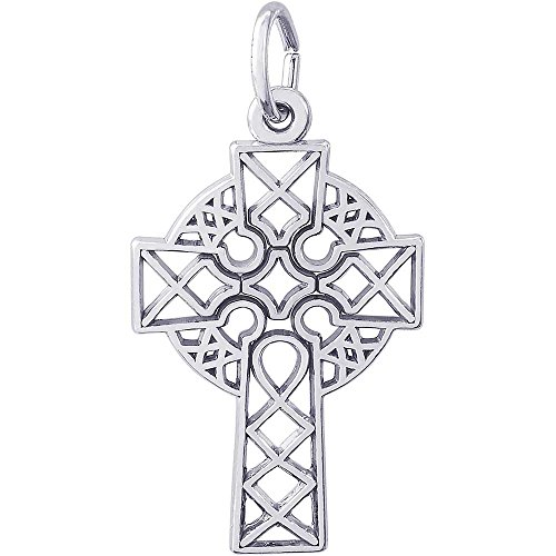 Rembrandt Charms Celtic Cross Charm, Sterling (Rembrandt Cross)