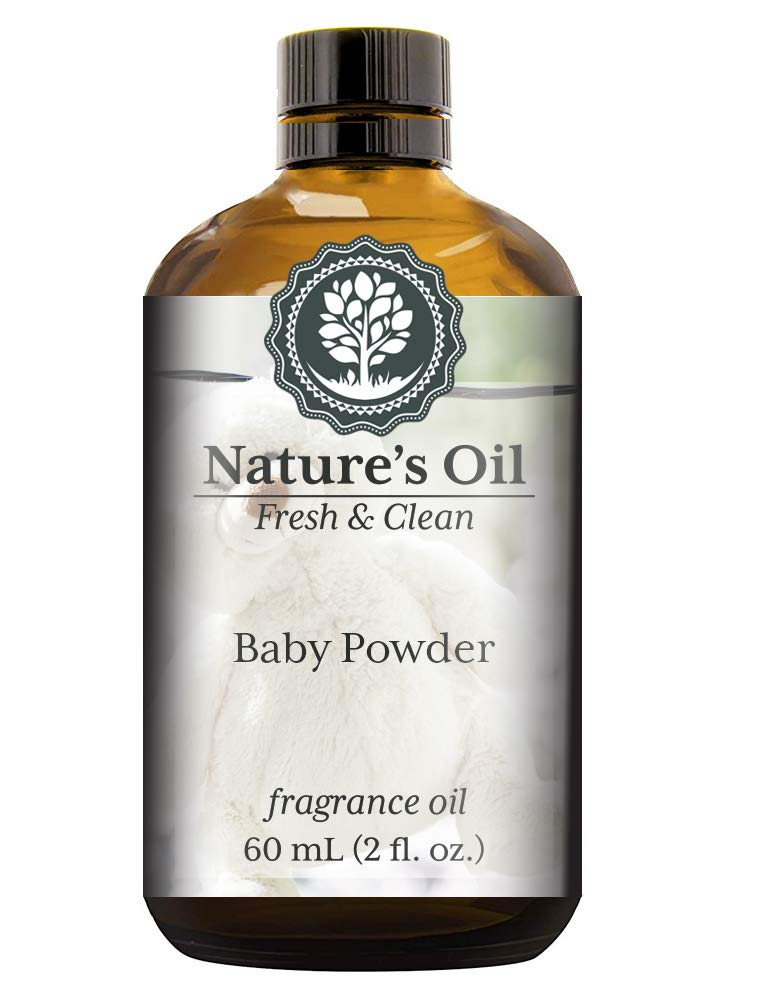 Baby Powder Fragrance Oil (60ml) For Diffusers, Soap Making, Candles, Lotion, Home Scents, Linen Spray, Bath Bombs, Slime