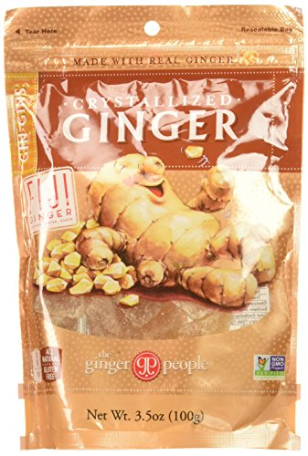 (Gin Gins Crystallized Ginger Candy 3.5oz Bag 6-Pack)