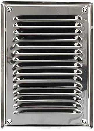 KOTARBAU - Rejilla de ventilación (230 x 165 mm, acero ...