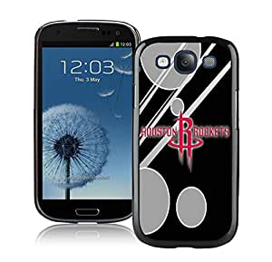 Fashionable Antiskid Cover Case For Samsung Galaxy S3 I9300 With houston rockets 12 Black Phone Case