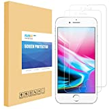 iPhone 8 Screen Protector, PLESON [2-Pack] iPhone 8 7 6s 6 Tempered Glass Screen Protector for Apple iPhone 8, 7, iPhone 6S, iPhone 6 [Case Friendly] [0.3mm] HD Clear 2.5D 9H Bubble-Free Anti-Scratch