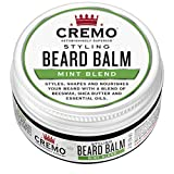 Cremo Styling Beard Balm, Mint -- Nourishes, Shapes And Moisturizes All Lengths Of Facial Hair, 2 Ounces