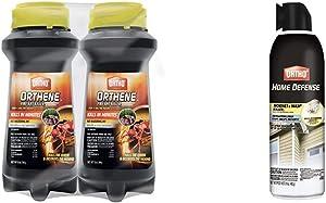 Ortho Orthene Fire Ant Killer1, 12 oz. (2-Pack) & Home Defense Hornet & Wasp Killer7, 16 Oz