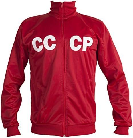 Union Soviétique CCCP USSR 1970 Rétro Veste De Football Classique Vintage Survêtement Homme Réplique