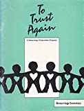 img - for To Trust Again : A Remarriage Preparation Program (Remarriage Inventory) book / textbook / text book
