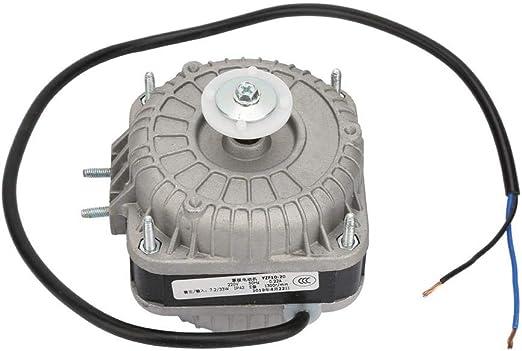 Motor de Condensador, 33W 0.25A Motor de Ventilador de Condensador ...