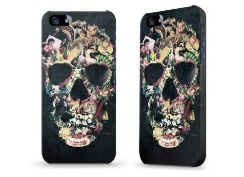 """Hülle / Case / Cover für iPhone 5 und 5s - """"Vintage Skull"""" von Ali Gulec"""