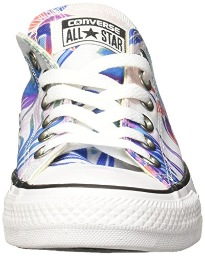 Converse Damen CTAS Ox Sneakers Mehrfarbig (Fresh Cyan/magenta Glow/white)