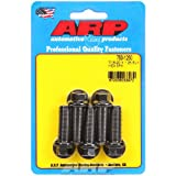 ARP 753-1250 7/16''-20 X 1.250 Hex Black Oxide Bolts (7/16'' Wrenching Fine Thread 5-pack)