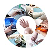 Disposable Vinyl Gloves 100pcs 3Mil Powder Latex